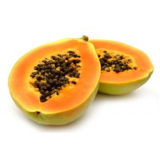 Papaya pulpa tropical