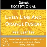 DILMAH TÉ LIVELY LIME & ORANGE FUSION
