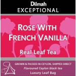 DILMAH TÉ ROSE WITH FRECH VANILLA